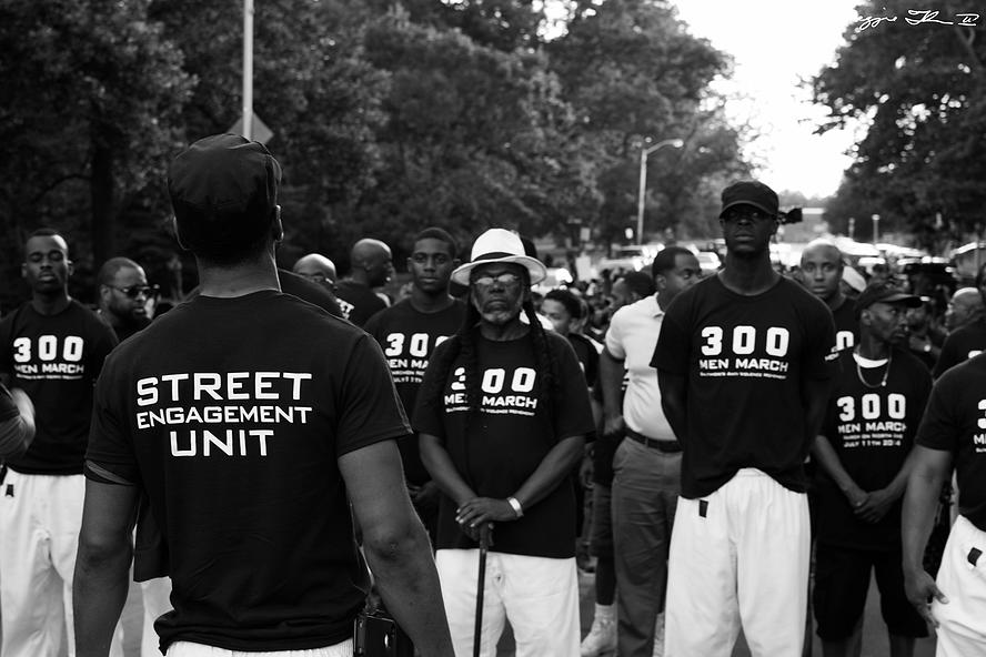#tbt #300MenMarch Walk to the White House